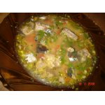 Горохово-рыбный суп
