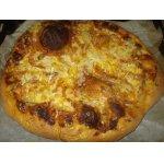 Солнечная  пицца  из  Греции