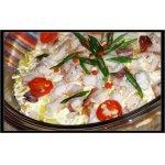 Салат с тунцом горячего копчения