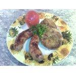 Мясные колбаски Карнацей с картофляниками