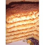 Торт творожный Бонапарт