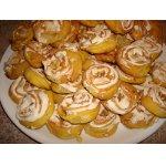 Tворожное печенье с безе и орешками