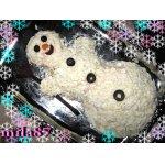 Салат Волшебный снеговик