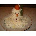 """Закуска """"Забавный снеговик"""""""