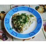 Быстрый завтрак с цветной капустой, колбасой
