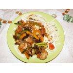 Креветки в устричном соусе по-китайски