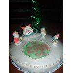 Торт Новогодняя поляна