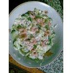 Салат Быстрый с креветками