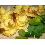 Гарнир из картофеля Цветы