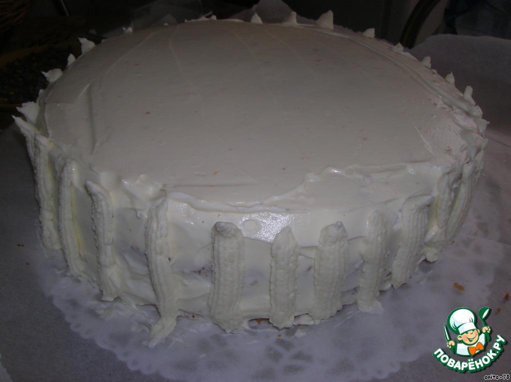Торт Фиалки