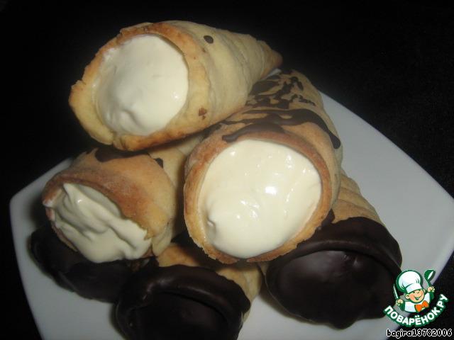 Пирожные Трубочки - 2