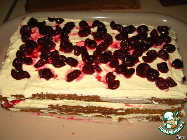 Торт Любимой бабушке