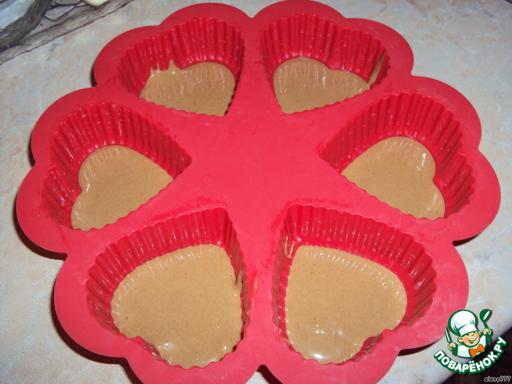 Десертное пирожное Очаровашка