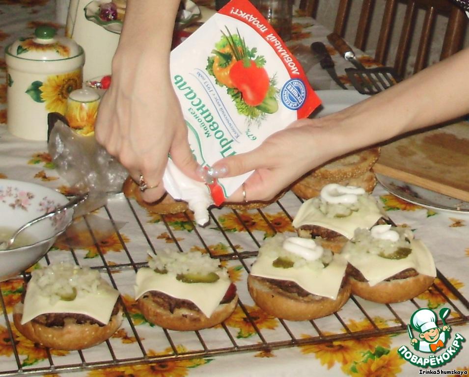 рецепт с фото чизбургер