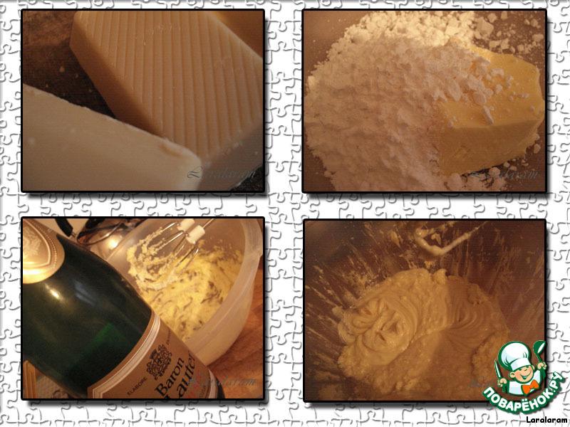Печенье с кремом Брызги шампанского