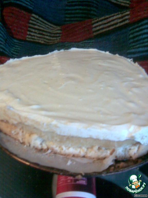 Торт Снежок