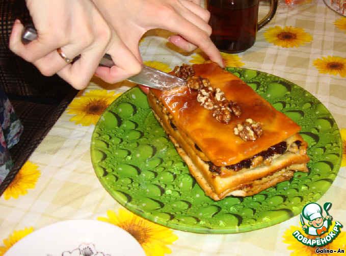 Восточное пирожное