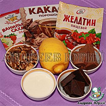 Именной десерт Мила-Людмила