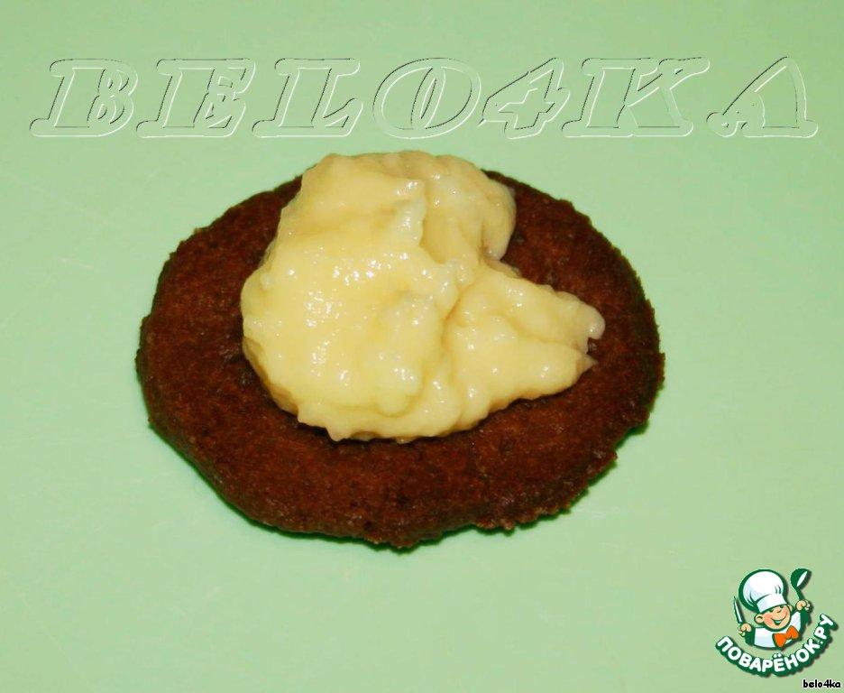 Шоколадно-кокосовое печенье