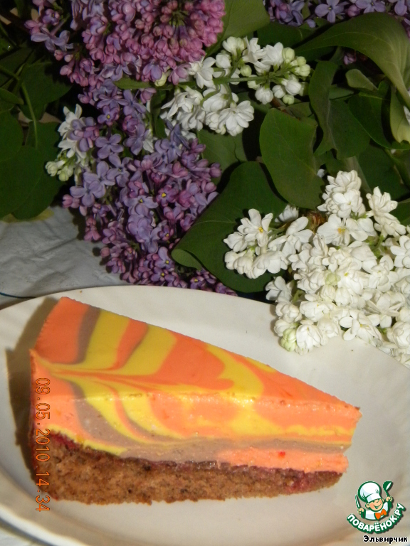 Торт Весеннее настроение