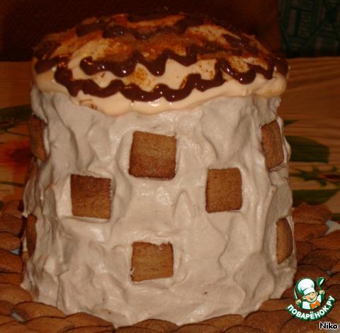 Бисквитный   торт   Толстая    Маргарита