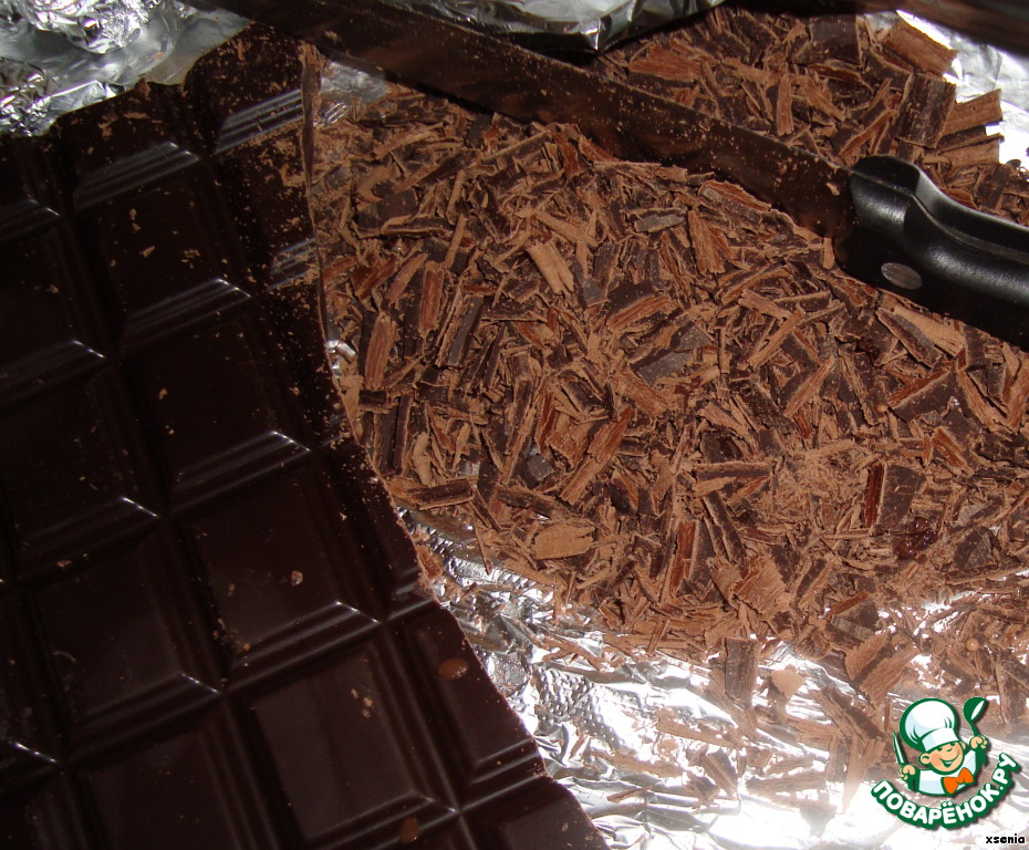 Шоколадный торт Асель