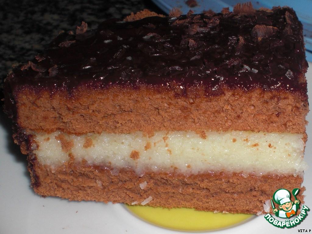 Торт Как Баунти