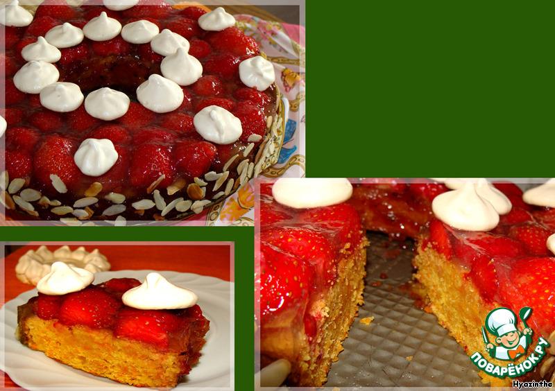 Морковно-ореховый кекс-торт Лето