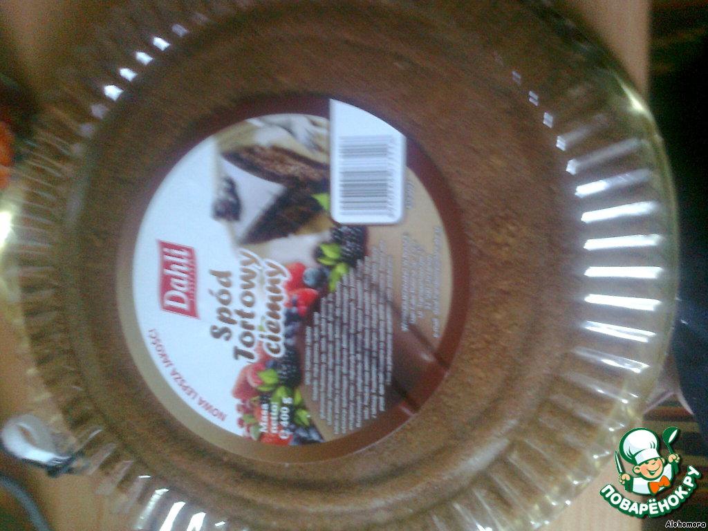 Шоколадно-ореховый торт без выпечки