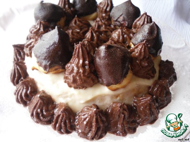 Торт–гато «Сент-Оноре»