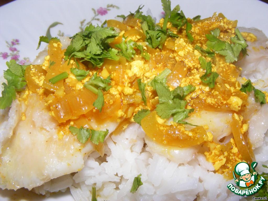 Рыба с соусе карри — pic 1