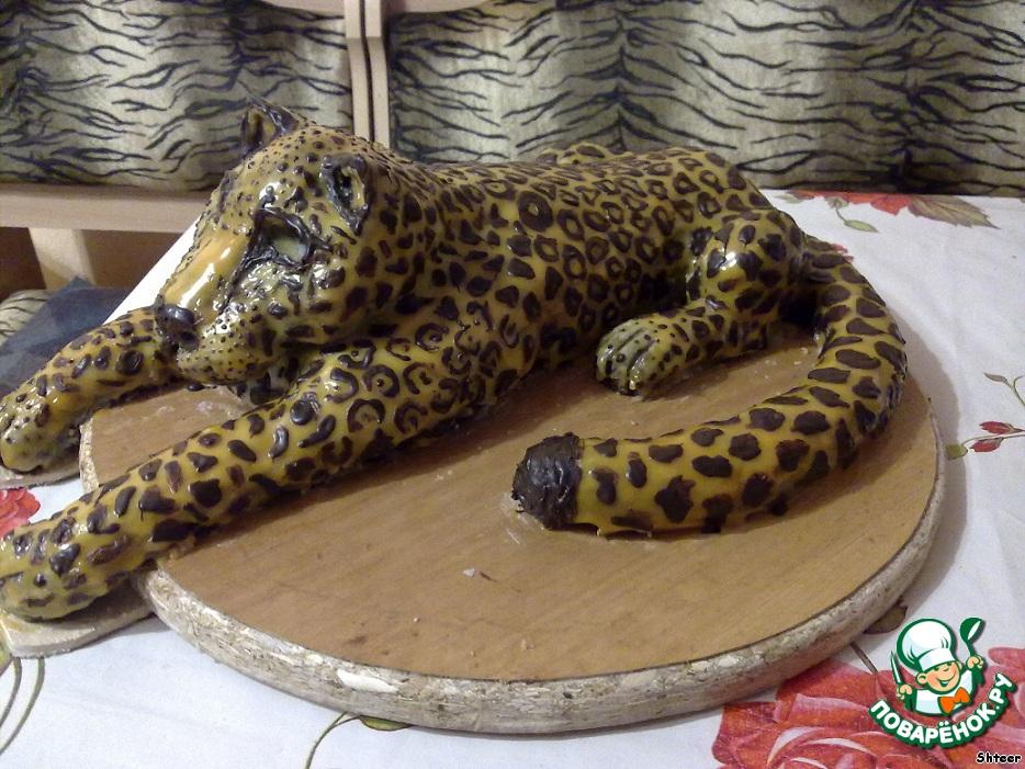 Торты в виде леопарда картинки