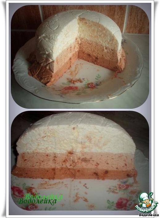Сливочно-шоколадный десерт ЛУ