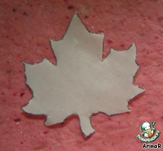 Печенье Кленовый лист