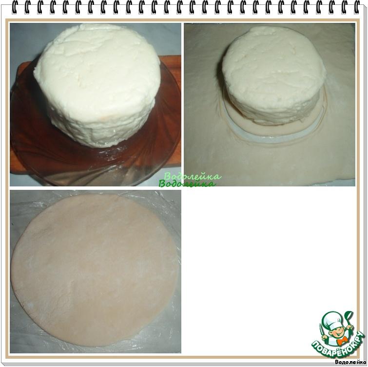Сыр, запеченный с фруктами