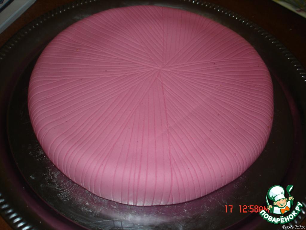 бисквитный торт под мастику рецепт с фото моя