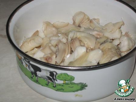 Что приготовить из соленой рыбы и грибов