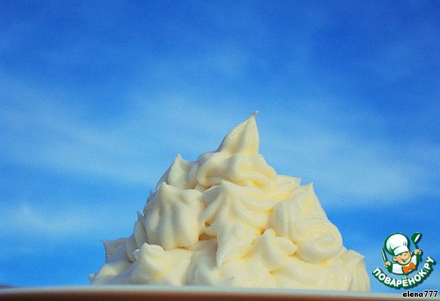 Десерт Белые кораблики