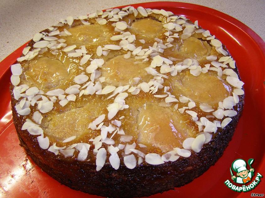 Орехово-грушевый торт Благодарность