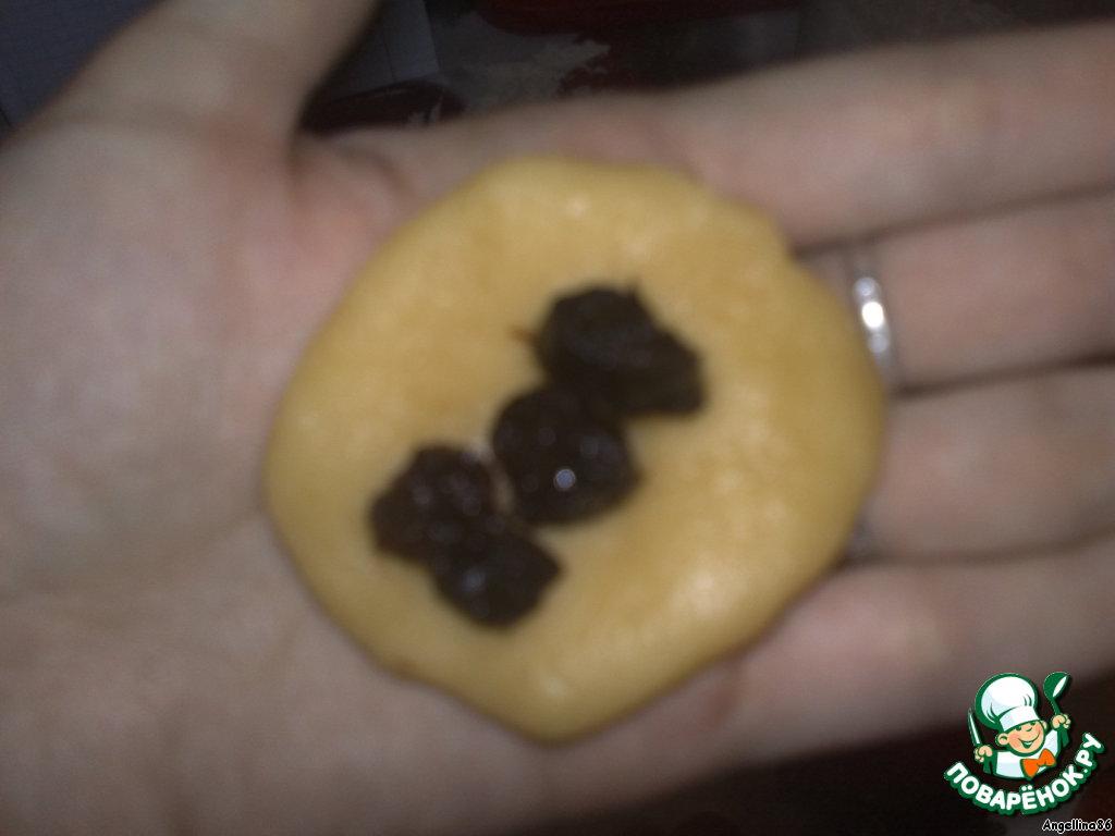 Медовое печенье с начинкой