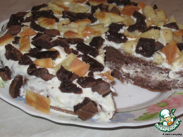 Торт Ночная фантазия