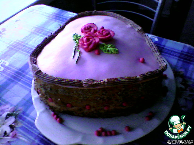 Торт Принцесса на горошине