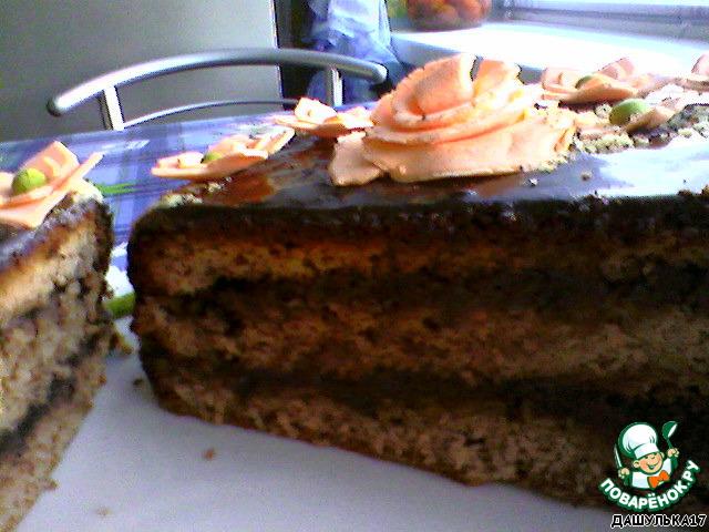 Торт Шоколадная полянка