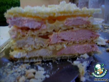 Тортик вафельный