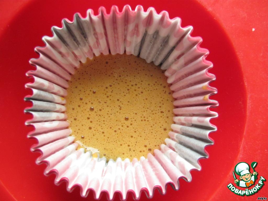 Шоколадно-карамельное пирожное-мусс