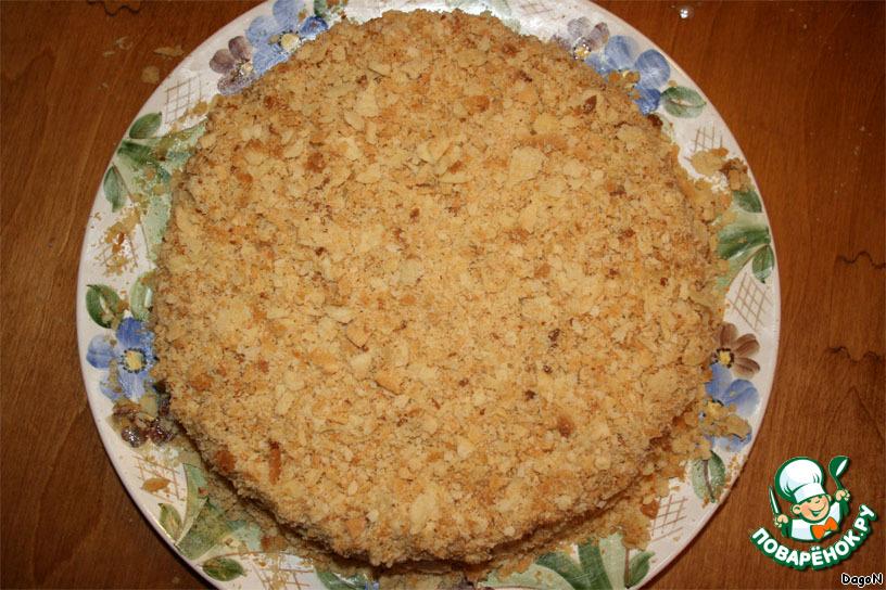 Торт песочный Наполеон