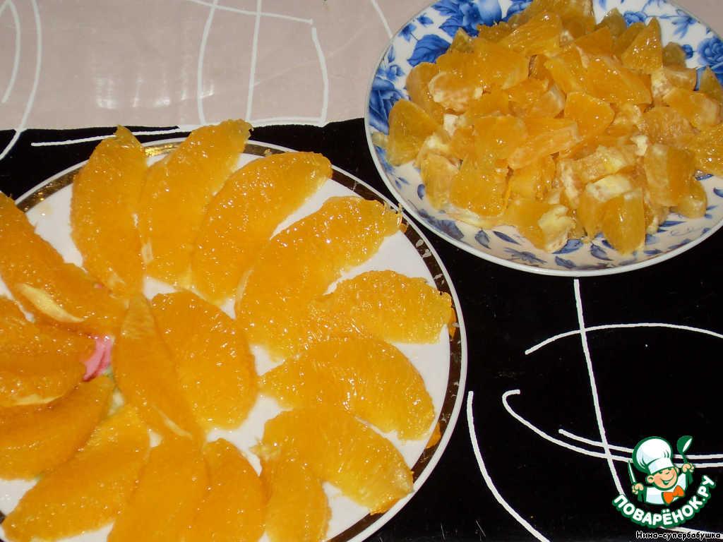 """Апельсиново-творожный торт """"День Ангела"""""""