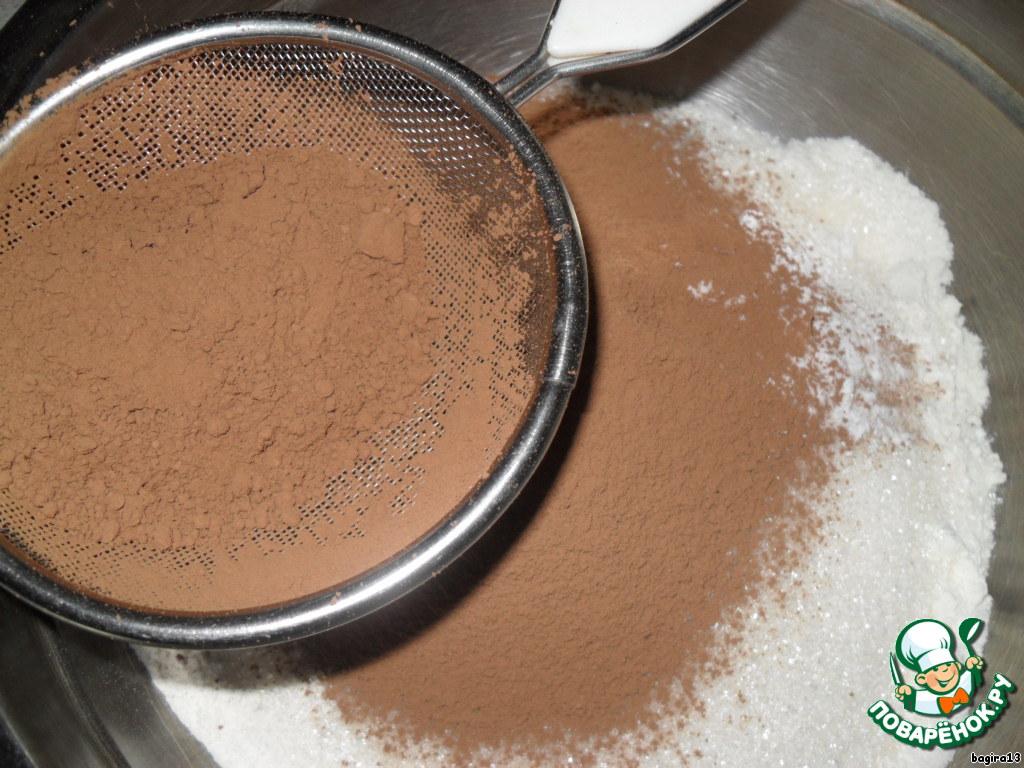 Пирожное Шоколадная елочка
