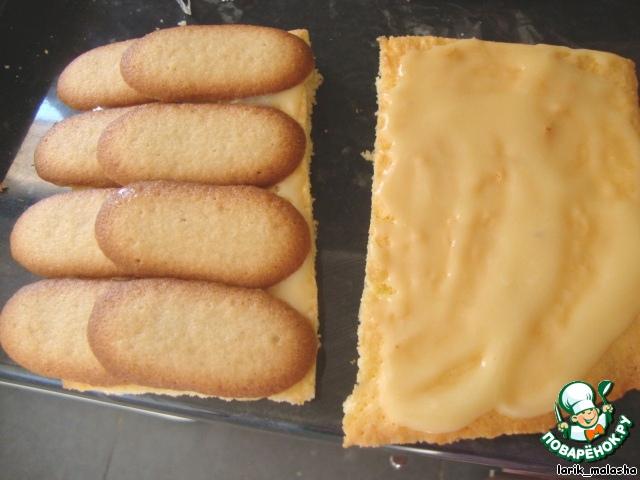 """Торт """"Снежная избушка"""""""