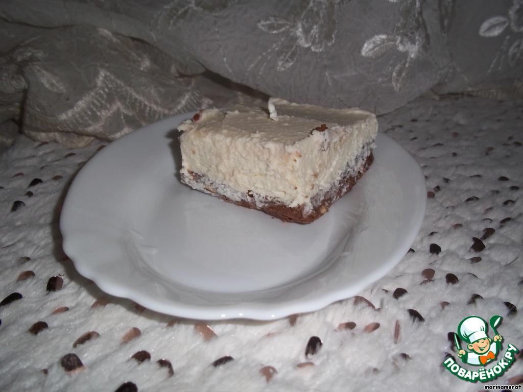 Пирожное Сладкая пена русалочки